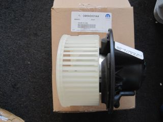 Mopar Jeep Liberty Heater & AC Blower Motor With Wheel