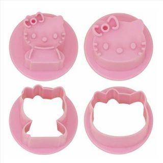making cute and unusual cooking with this smart Hello Kitty face mold
