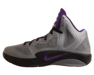 Nike Zoom Hyperfuse 2011 Grey Purple Black Fuse Mens