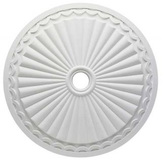 Westinghouse Lighting 7775900 Circolare Polyurethane Ceiling Medallion