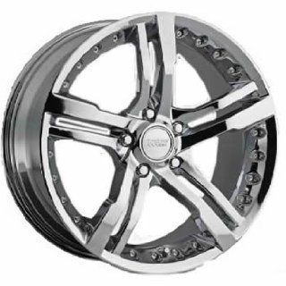 Cruiser Alloy Switchblade 5 20x8.5 Chrome Wheel / Rim 5x5 with a 35mm
