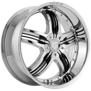 RockNStarr Legend 26 Chrome Wheel / Rim 5x4.5 & 5x4.75 with a 15mm