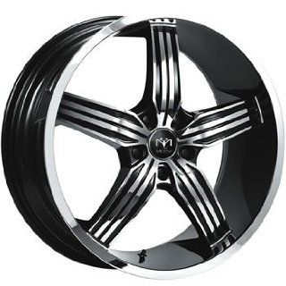 Motiv Motion 20x8.5 Chrome Black Wheel / Rim 5x120 with a 35mm Offset