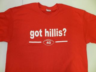 Got Hillis? Peyton Kansas City Chiefs Red T Shirt Funny Tee Pick Your