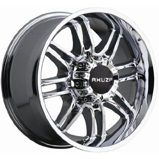 Akuza Ricco 17x9 Chrome Wheel / Rim 5x4.5 with a  12mm Offset and a 83