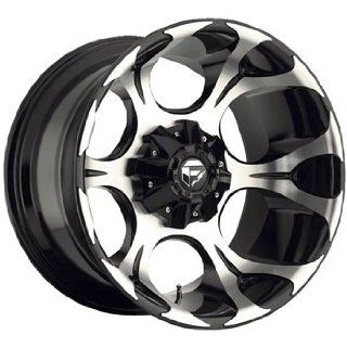 Fuel Dune 20x10 Machined Black Wheel / Rim 6x135 & 6x5.5 with a  24mm
