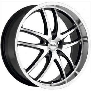 Advanti Racing Maui 20x8.5 Machined Black Wheel / Rim 5x110 with a