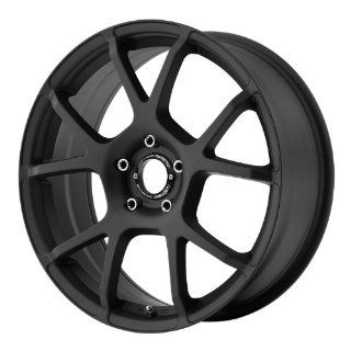 Motegi MR121 18x8 Black Wheel / Rim 5x4.5 with a 45mm Offset and a 72