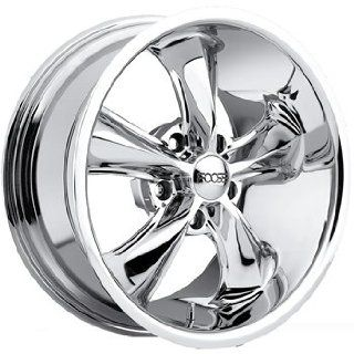 Foose Legend 17x7 Chrome Wheel / Rim 5x4.5 with a 7mm Offset and a 72