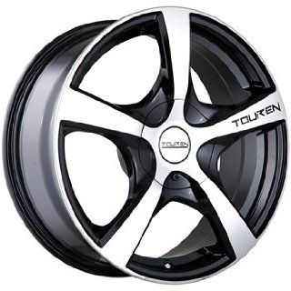 Touren TR9 22 Machined Black Wheel / Rim 5x130 with a 50mm Offset and