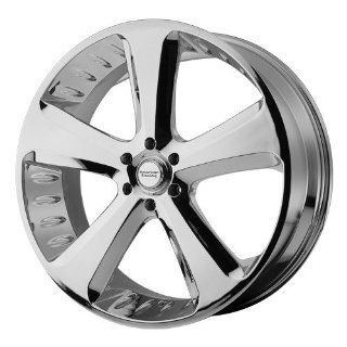 American Racing Vintage Circuit 18x8 Chrome Wheel / Rim 6x5.5 with a