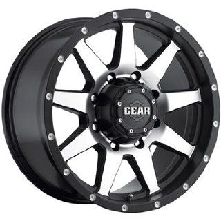 Gear Alloy Overdrive 17x9 Black Wheel / Rim 8x6.5 with a 10mm Offset