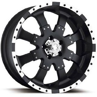 Ultra Goliath 18x9 Black Wheel / Rim 8x180 with a 12mm Offset and a