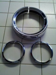 Harley Davidson Chrome Light Covers