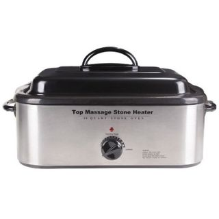 QUALITY MASSAGE STONE HEATER/WARMER   HOT ROCK COOKER OVEN