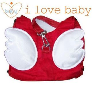 Red Angel Baby Toddler Walking Safety Harnesses Rein