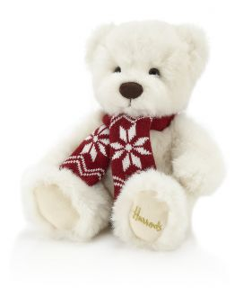 Harrods of Knightsbridge London Small Xmas Christmas 2012 Teddy Bear