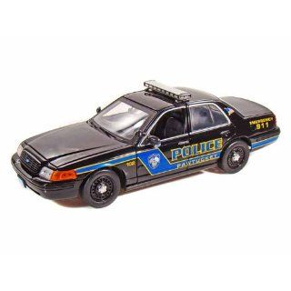 Ford Crown Victoria Pawtucket Police Car 1/18 Black Toys & Games