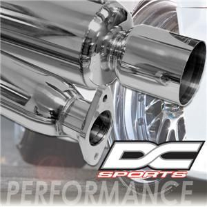 DC Sports 99 00 Honda Civic EX SI Cat Back Exhaust Pipe