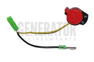 Honda GX200 GX240 GX340 GX390 Kill Switch Generator Water Pump 2 Wire