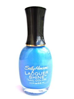 Sally Hansen Lacquer Shine Nail Color Polish 04 Flash