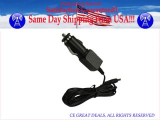 Car Adapter For Homedics SBM 100 SBM 200 Shiatsu Back Massager Power