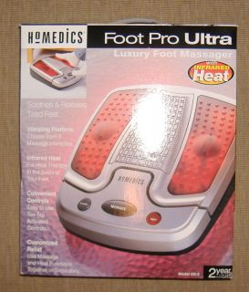 Homedics AK 3 Foot Pro Ultra Luxury Foot Massager with Infared Heat
