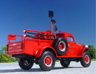 XF FDNY 1949 Dodge Power Wagon Firetruck First Gear