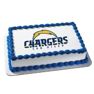 NFL San Diego Chargers ~ Edible Cake Image Topper