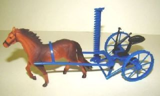 Rustic Farm Equipment Horse Drawn Sickle Mower 1 24 Scale O Scale