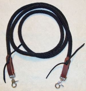 Rope Reins Barrel racing Contest Pony Horse Tack trail riding training