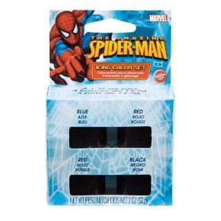 Wilton Amazing Spider Man Icing Color Set Kitchen