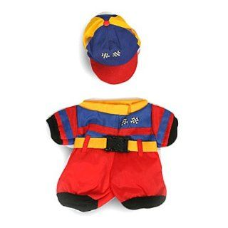 Nascar Racing Uniform Outfit Teddy Bear Clothes Fit 14