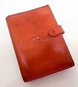 Henry Beguelin Red Leather Wallet Wonderful Clutch Wallet Softest