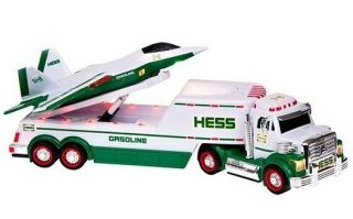 2010 Hess Toy Truck and Jet New in Box New Unopened Box Lights Sounds