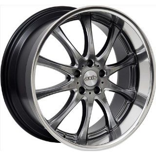 20x9.5 Axis Option (Hyper Black w/ Machine Polished Lip) Wheels/Rims