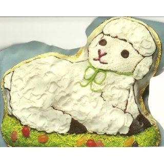 Wilton Cake Pan Gentle Lamb (502 3444, 1981) Kitchen
