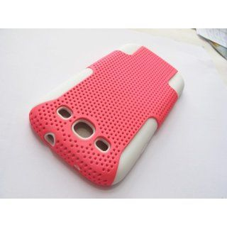 Rubberized Mesh Hard Combo Case Cover Samsung Galaxy S III
