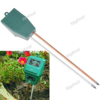 in 1 Home Garden Hydroponic Soil Moisture Light PH Meter Tester