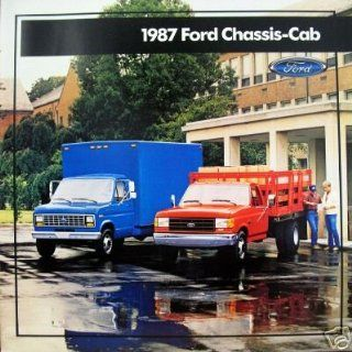 1987 Ford Chassis Cab vehicle brochure