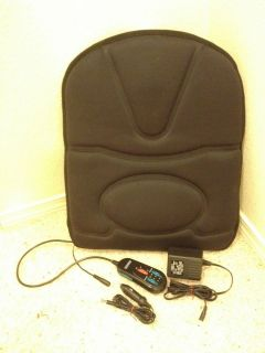 Homedics Heated Back Massager with Car Adapter Lower Upper Heat