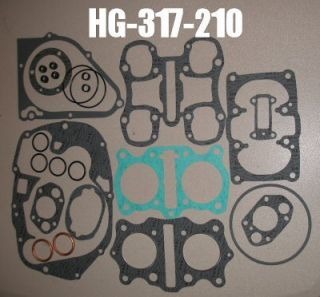 Vintage Honda Motorcycle Engine Gasket Set CB350