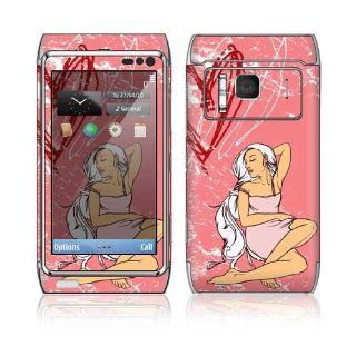 Romance Decorative Skin Cover Decal Sticker for Nokia N8