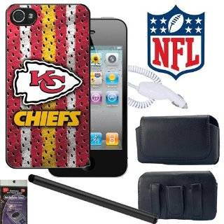 iPhone 4s, 4 Kansas City Chiefs NFL Team Snap on Cover