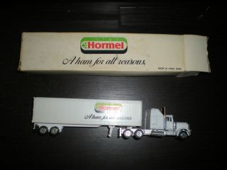 HORMEL FOODS ROAD CHAMPS Kenworth Semi Truck Trailer in original box