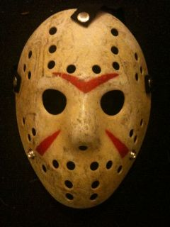 Voorhees Friday 13th Hockey Mask Halloween Horror Scary Freddy