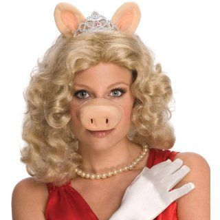 Lets Party By Rubies Costumes The Muppets Miss Piggy Wig w