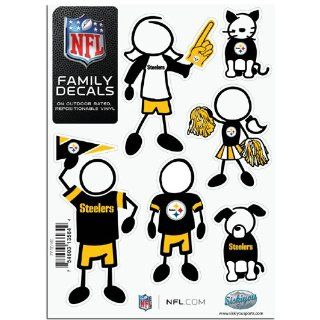 BSS   Pittsburgh Steelers NFL Family Car Decal Set (Small