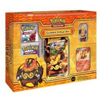 Pokemon Black and White Emboar Stage 2 Figure Box Toys