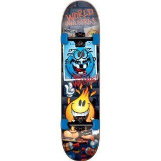 World Industries Vandalized Willy Complete Skateboard   7